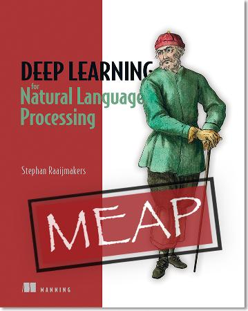 Deep Learning for Natural Language Processing MEAP V09 epub -Stephan Raaijmakers cover