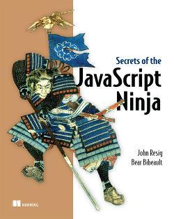 Secrets of the JavaScript Ninja cover