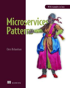 Microservices Patterns cover