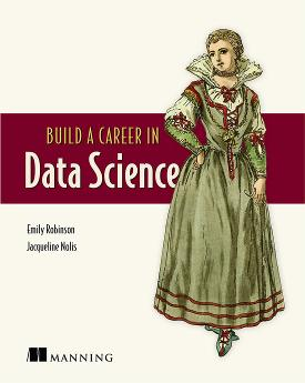 Build a Career in Data Science cover
