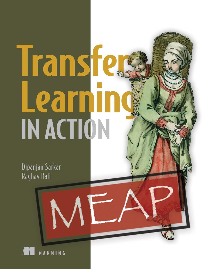 Transfer Learning in Action MEAP V01 cover