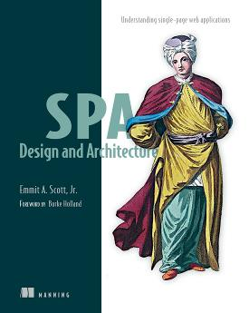 SPA Design and Architecture: Understanding single-page web applications cover