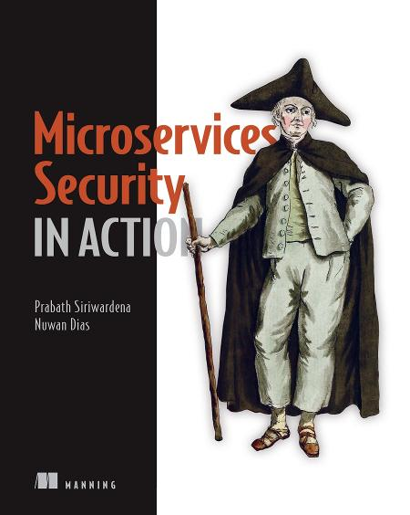 Microservices Security in Action cover