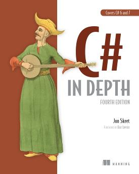 C# in Depth, Fourth Edition cover