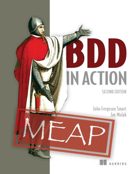 BDD in Action Second Edition MEAP V05 cover