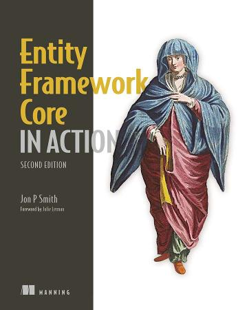 Entity Framework Core in Action MEAP V10 cover