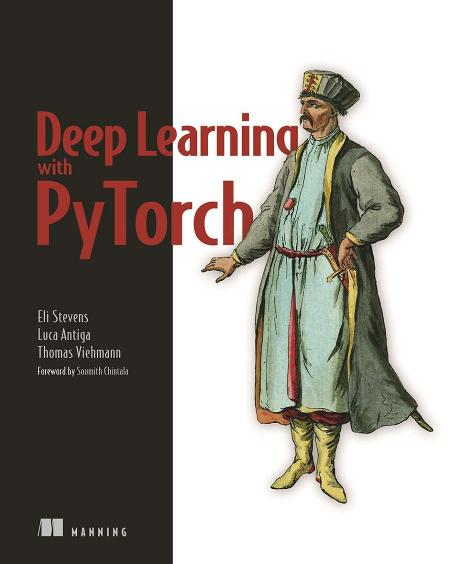 Deep Learning with PyTorch cover