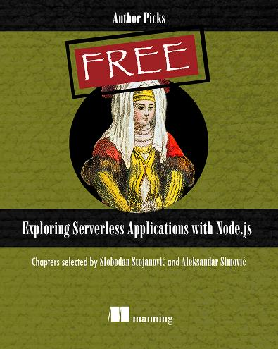 Exploring Serverless Applications with Node.js cover