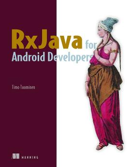 RxJava for Android Developers cover