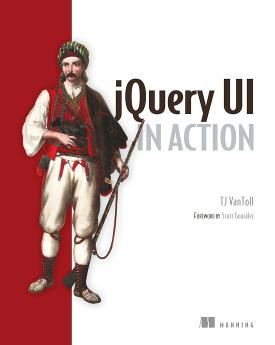 jQuery UI in Action cover