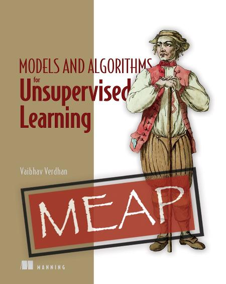 Unsupervised Learning with Python MEAP V01 cover