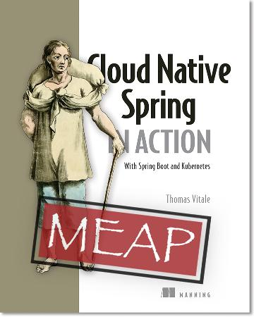 Cloud Native Spring in Action MEAP V02 cover