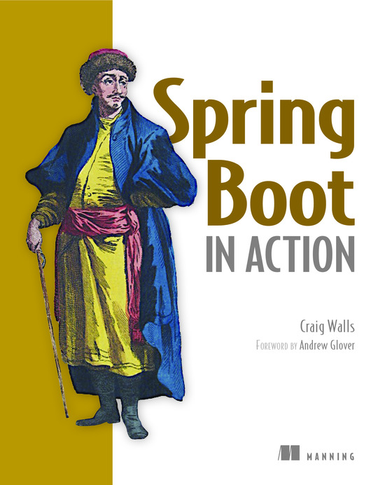 Spring Boot in Action cover