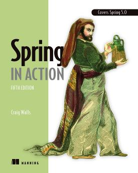Spring in Action, Fifth Edition cover