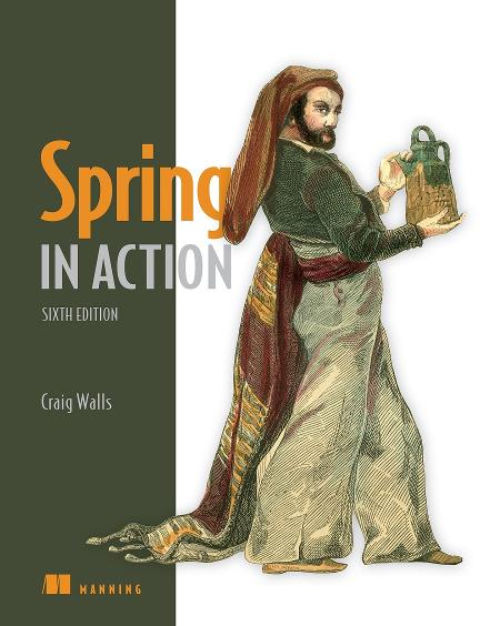 Spring in Action, Sixth Edition MEAP V03 cover