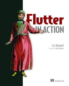 Flutter in Action cover